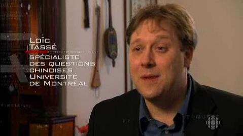 Spécialiste questions chinoise Université de Montréal
