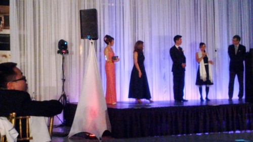 Prix «Coup d'éclat» et discours pour «Être Chinois au Québec» au Bal de l'orchidée 2013