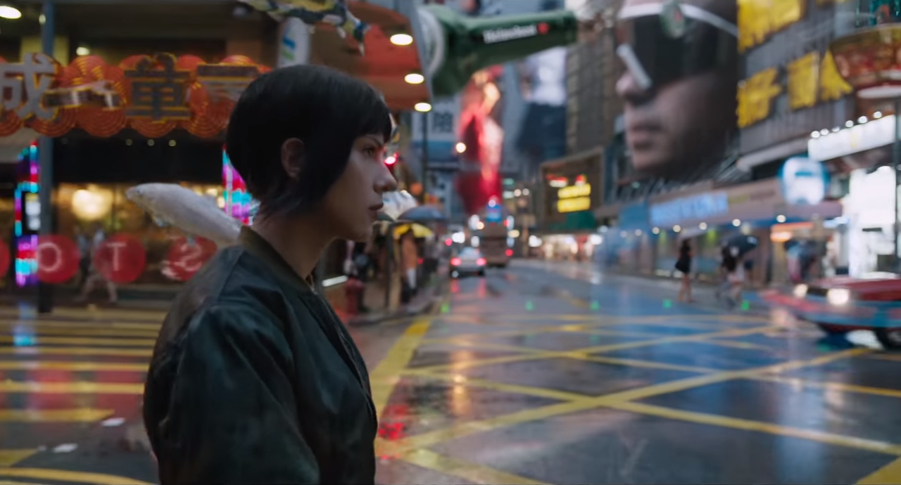 Ghost in the Shell and Hong Kong